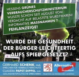 """Read more about the article Lebensmittelskandal um Wilke: """"Das Hessische Verbraucherschutzministerium hat versagt"""""""