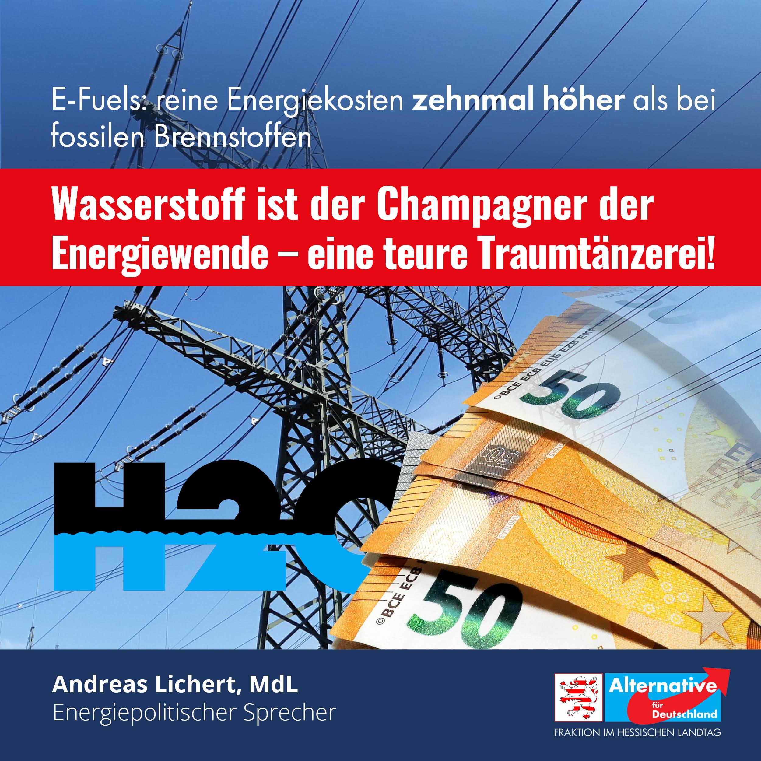 """Read more about the article Wasserstoff – """"Mehr als die Hälfte der Energie geht verloren"""""""