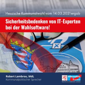 Read more about the article Wahlsoftware muss für den Einsatz bei Wahlen zertifiziert werden!