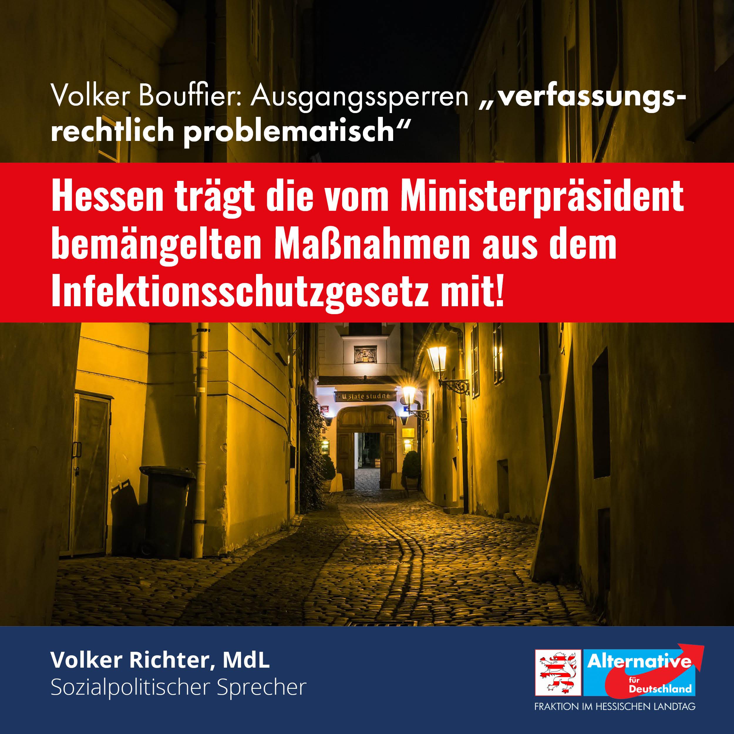 "You are currently viewing Volker Bouffier nennt Ausgangssperren ""verfassungsrechtlich problematisch"""