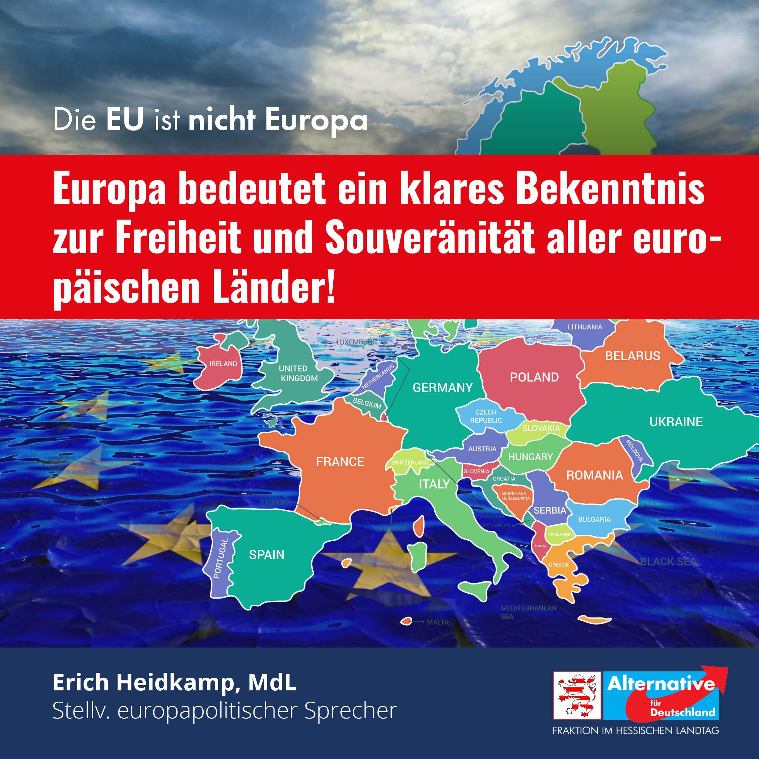 """You are currently viewing """"Klares Bekenntnis zur Freiheit aller europäischen Länder"""""""