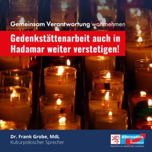 """Read more about the article """"Gedenkstättenarbeit auch in Hadamar weiter verstetigen"""""""