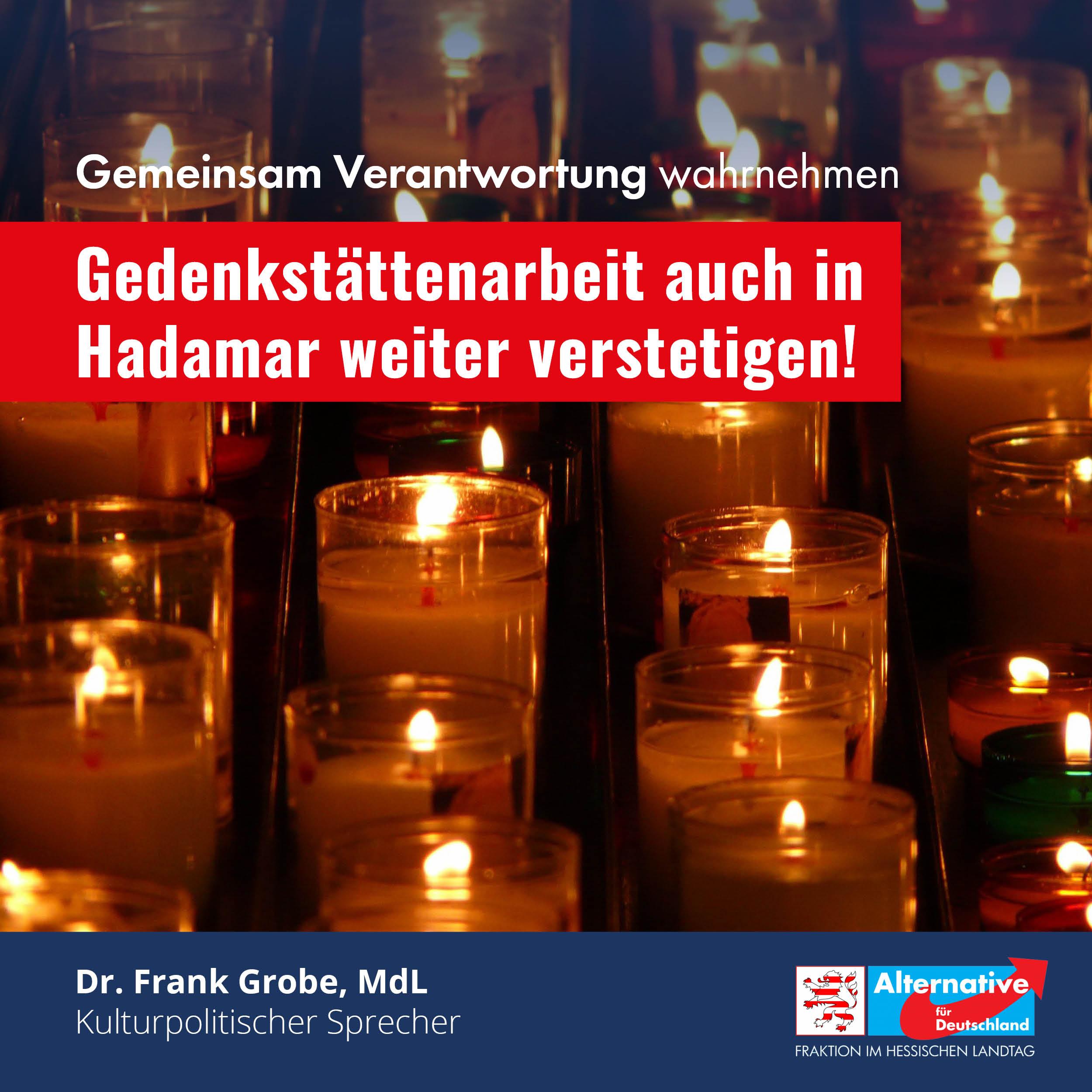 """You are currently viewing """"Gedenkstättenarbeit auch in Hadamar weiter verstetigen"""""""
