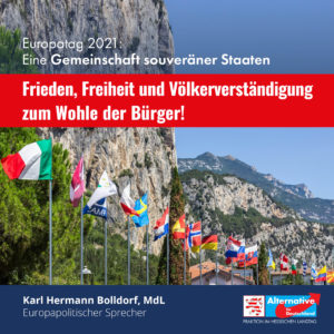 """Read more about the article Europatag 2021: """"Für ein Europa souveräner Staaten"""""""