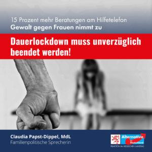 """Read more about the article Häusliche Gewalt: """"Dauer-Lockdown verschlimmert die Situation"""""""
