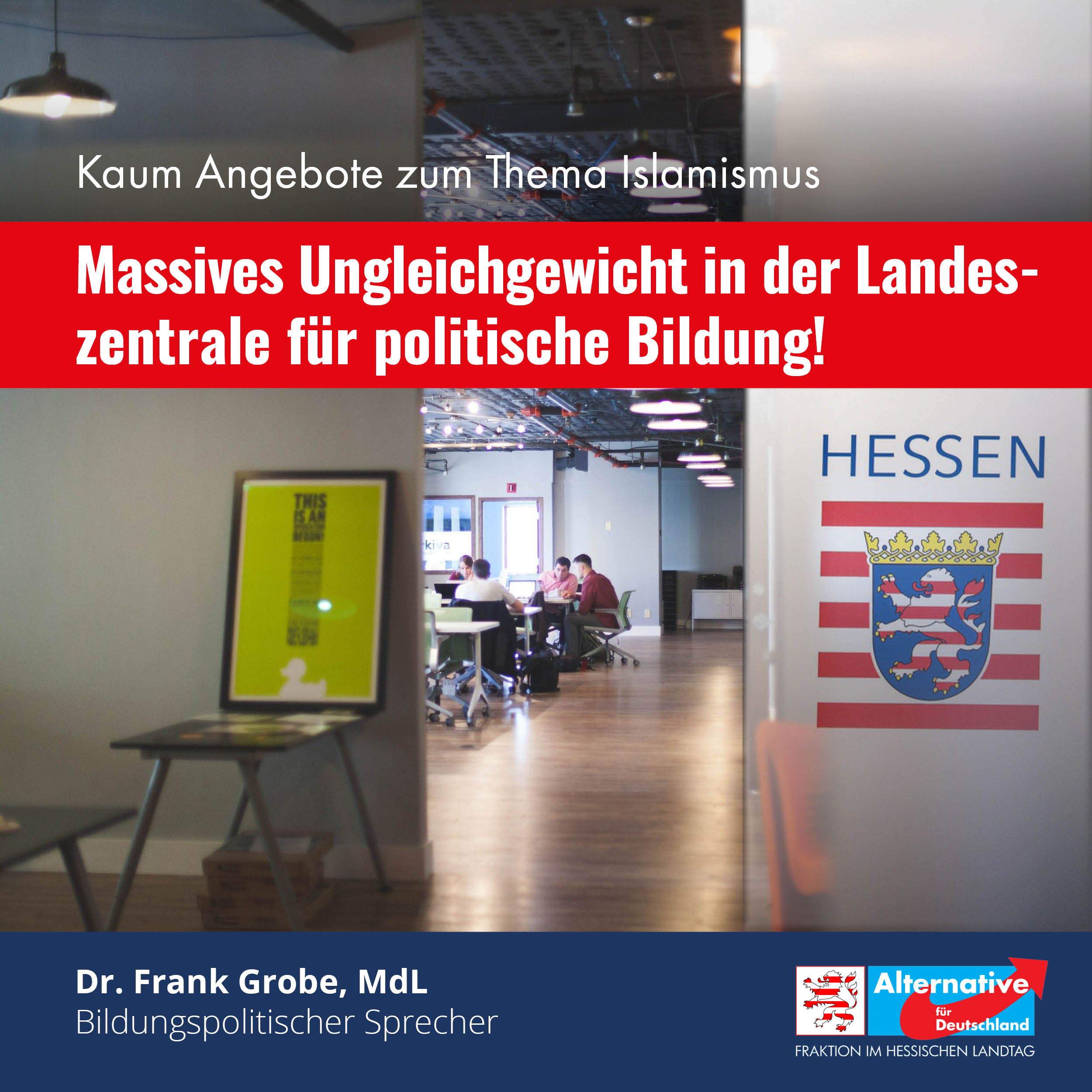 """You are currently viewing """"Ideologische Schieflage""""– auch in der Landeszentrale für politische Bildung"""