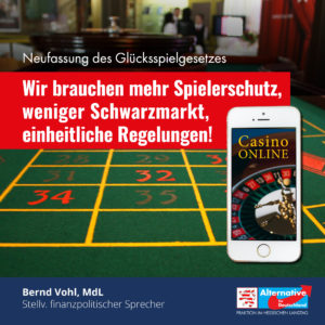"""Read more about the article """"Neuregelung des Glücksspielrechts nach wie vor mängelbehaftet"""""""