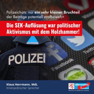 """Read more about the article """"Beuth hätte die Ermittlungsergebnisse abwarten müssen"""""""