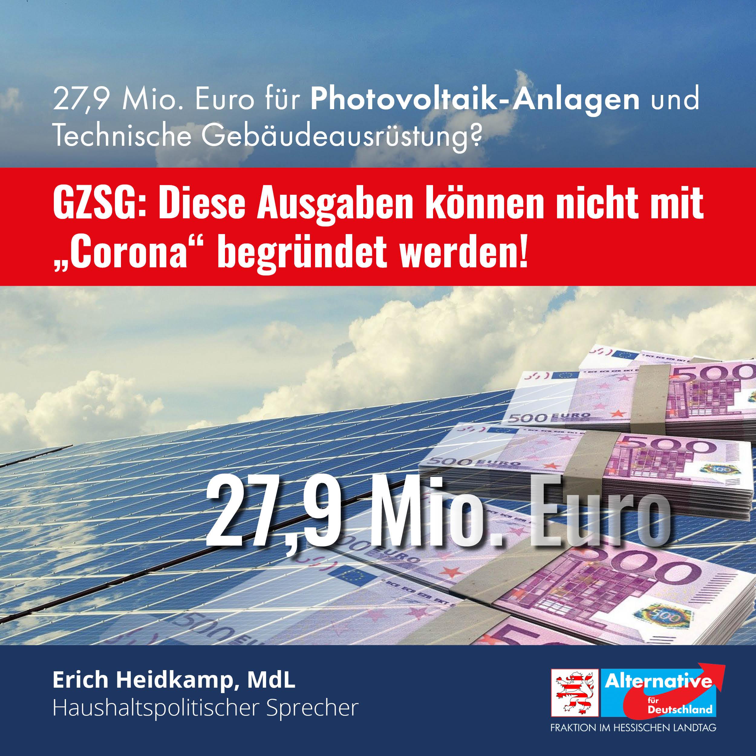 """Read more about the article GZSG: """"Diese Ausgaben können nicht mit Corona begründet werden"""""""