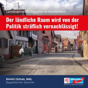 """Read more about the article """"Es wird nur Politik für die Städter gemacht"""""""