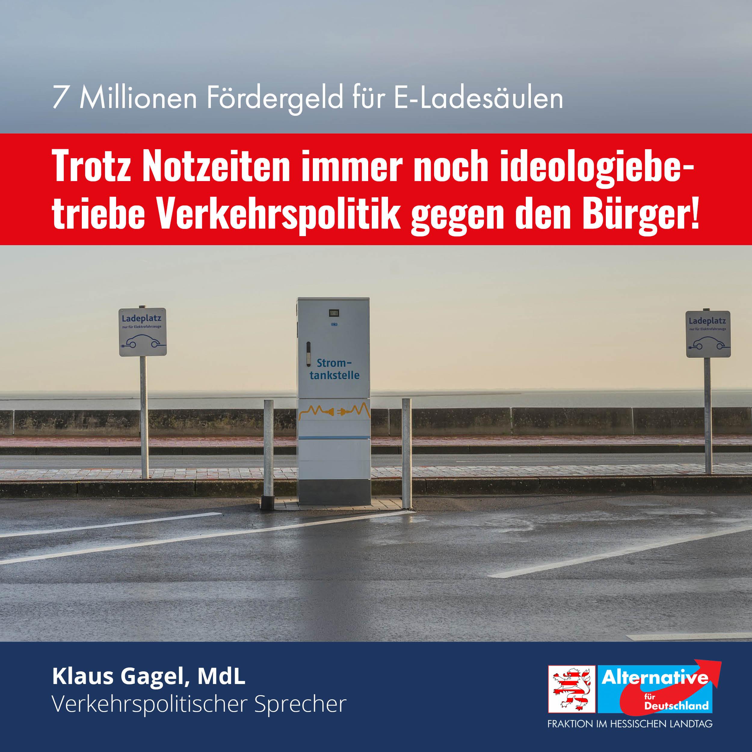 ideologiebetriebene Verkehrspolitik