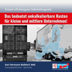 "Read more about the article ""Brüsseler Lieferkettengesetz bedeutet unkalkulierbare Kosten"""