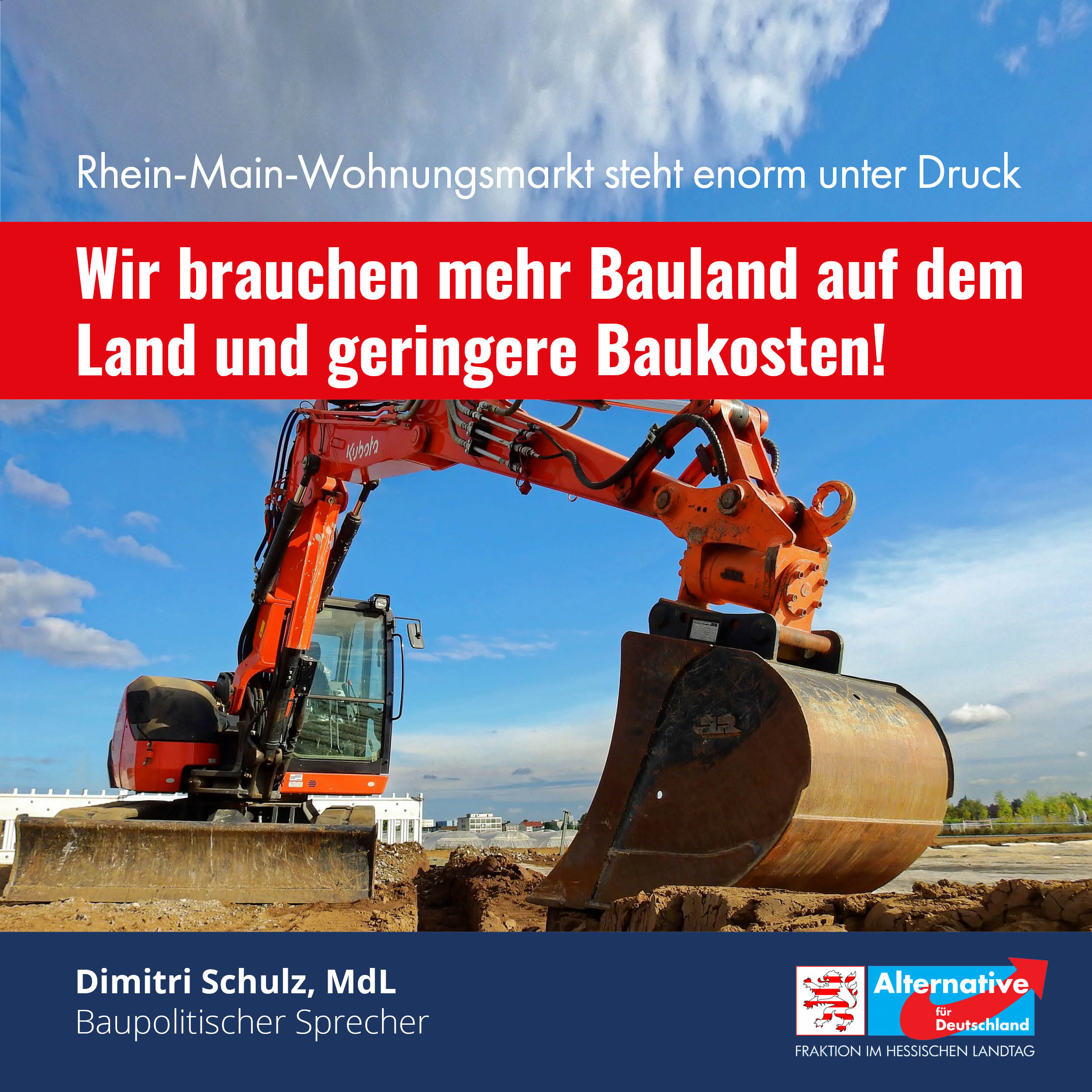 Read more about the article Mehr Bauland außerhalb des Rhein-Main-Gebietes ausweisen.