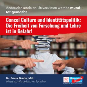 """Read more about the article """"Die Freiheit von Forschung und Lehre ist in Gefahr"""""""