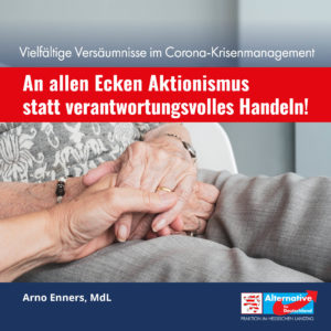 """Read more about the article """"Aktionismus statt verantwortungsvolles Handeln"""""""