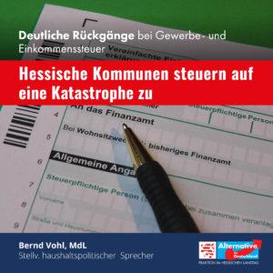 """Read more about the article """"Hessische Kommunen steuern auf eine Katastrophe zu"""""""