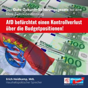 """Read more about the article """"Wir befürchten einen Kontrollverlust über die Budgetpositionen"""""""