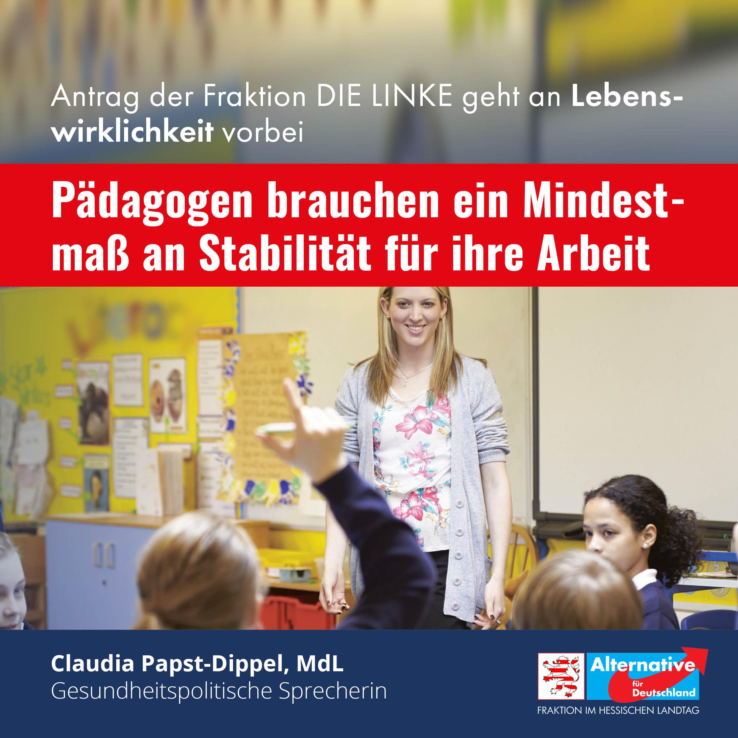 """Read more about the article """"Der Antrag der Linken geht an der Lebenswirklichkeit vorbei"""""""