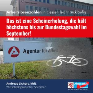 """Read more about the article Weniger Arbeitslose: """"Wenig aussagekräftige Scheinerholung"""""""