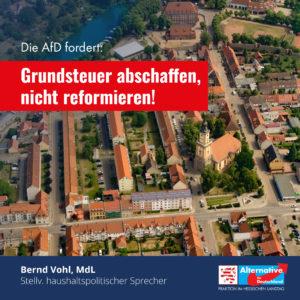 """Read more about the article """"Die Grundsteuer gehört nicht reformiert, sondern abgeschafft"""""""