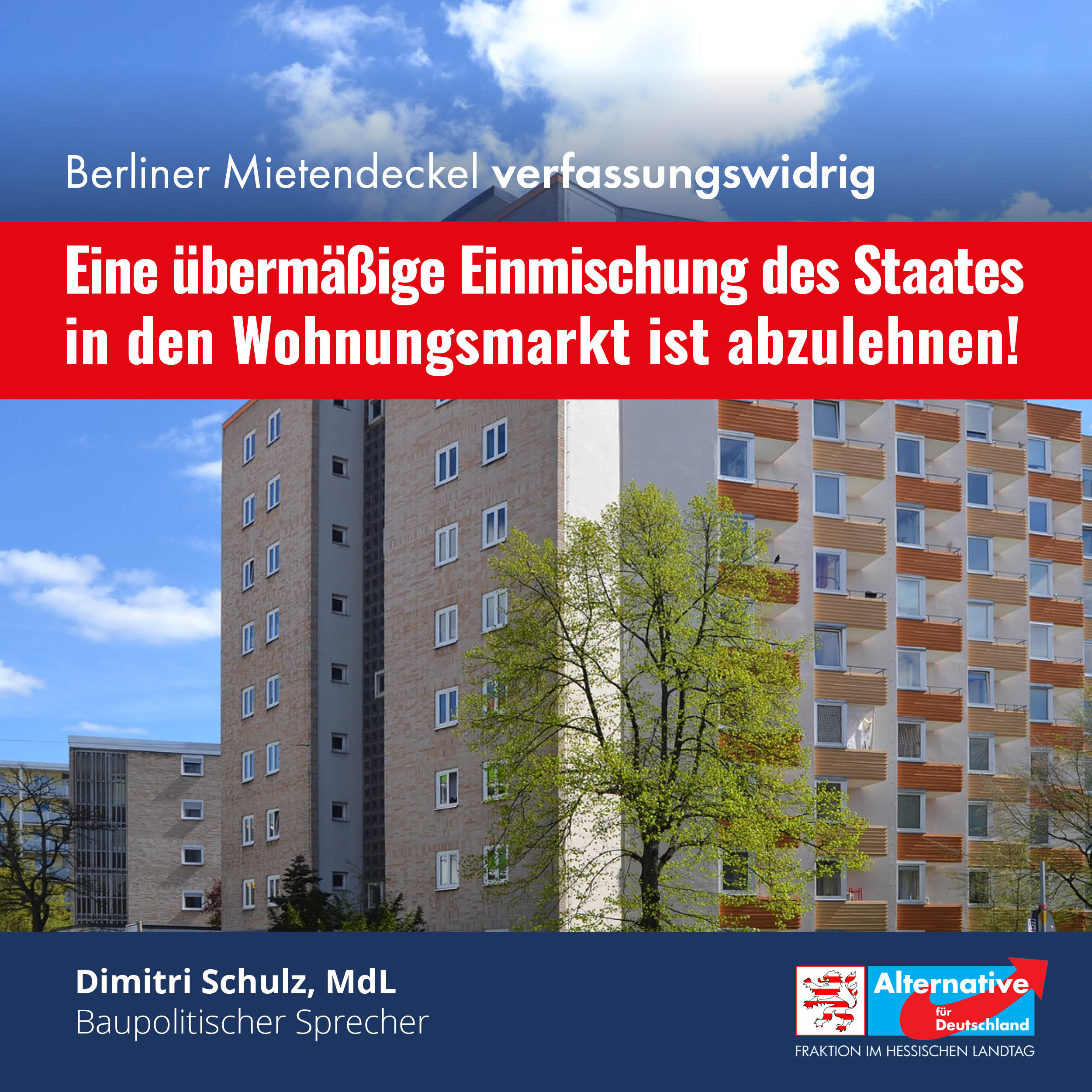 Read more about the article Berliner Mietendeckel verfassungswidrig!