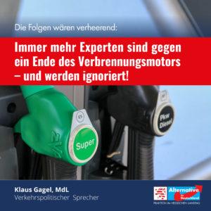 Read more about the article Immer mehr Experten sind gegen ein Ende des Verbrennungsmotors – und werden ignoriert!