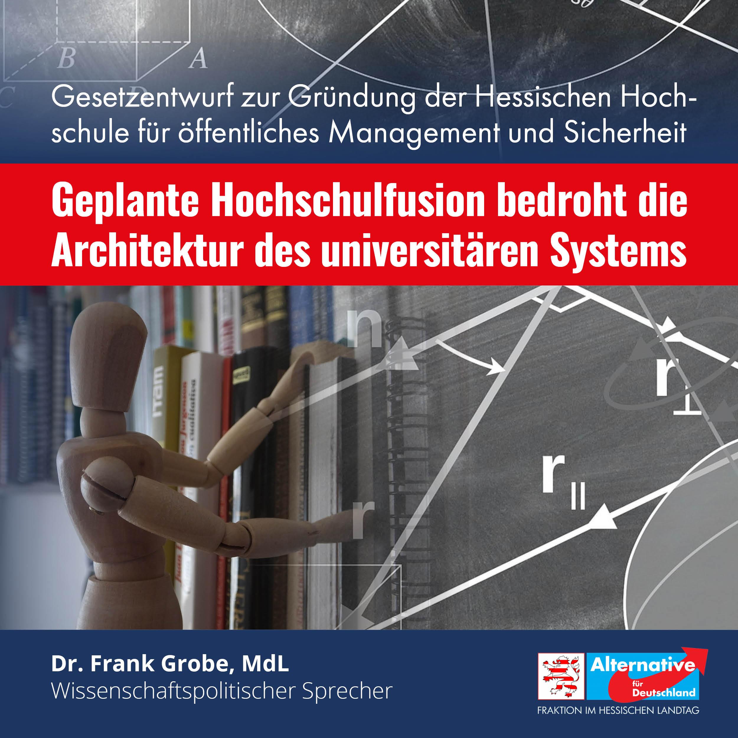 """You are currently viewing """"Die geplante Hochschulfusion bedroht die Architektur des universitären Systems"""""""