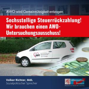"Read more about the article ""Wir brauchen einen AWO-Untersuchungsausschuss"""