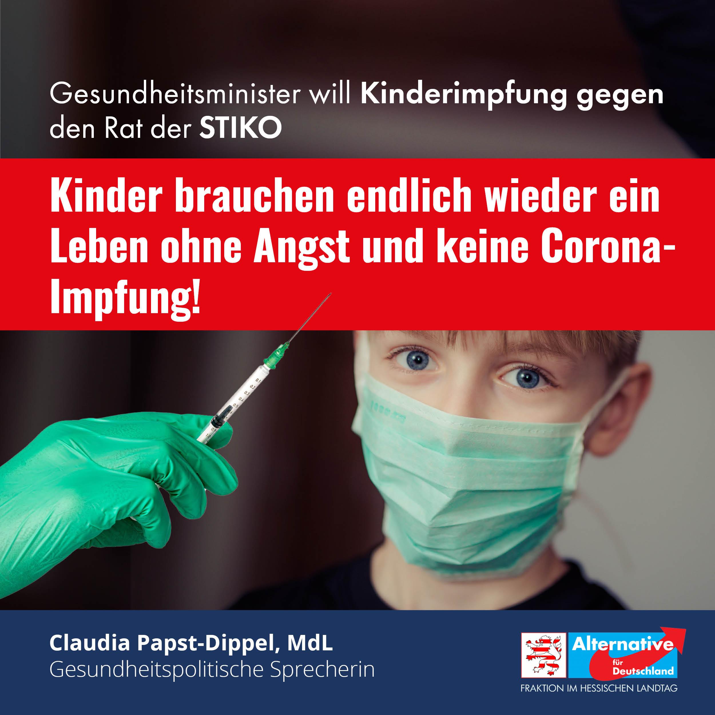 """Read more about the article """"Kinder brauchen ein Leben ohne Angst und keine Corona-Impfung"""""""