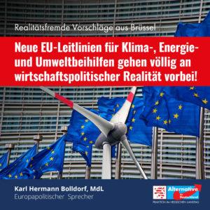 Read more about the article Neue EU-Leitlinien für Klima-, Energie- und Umweltbeihilfen: