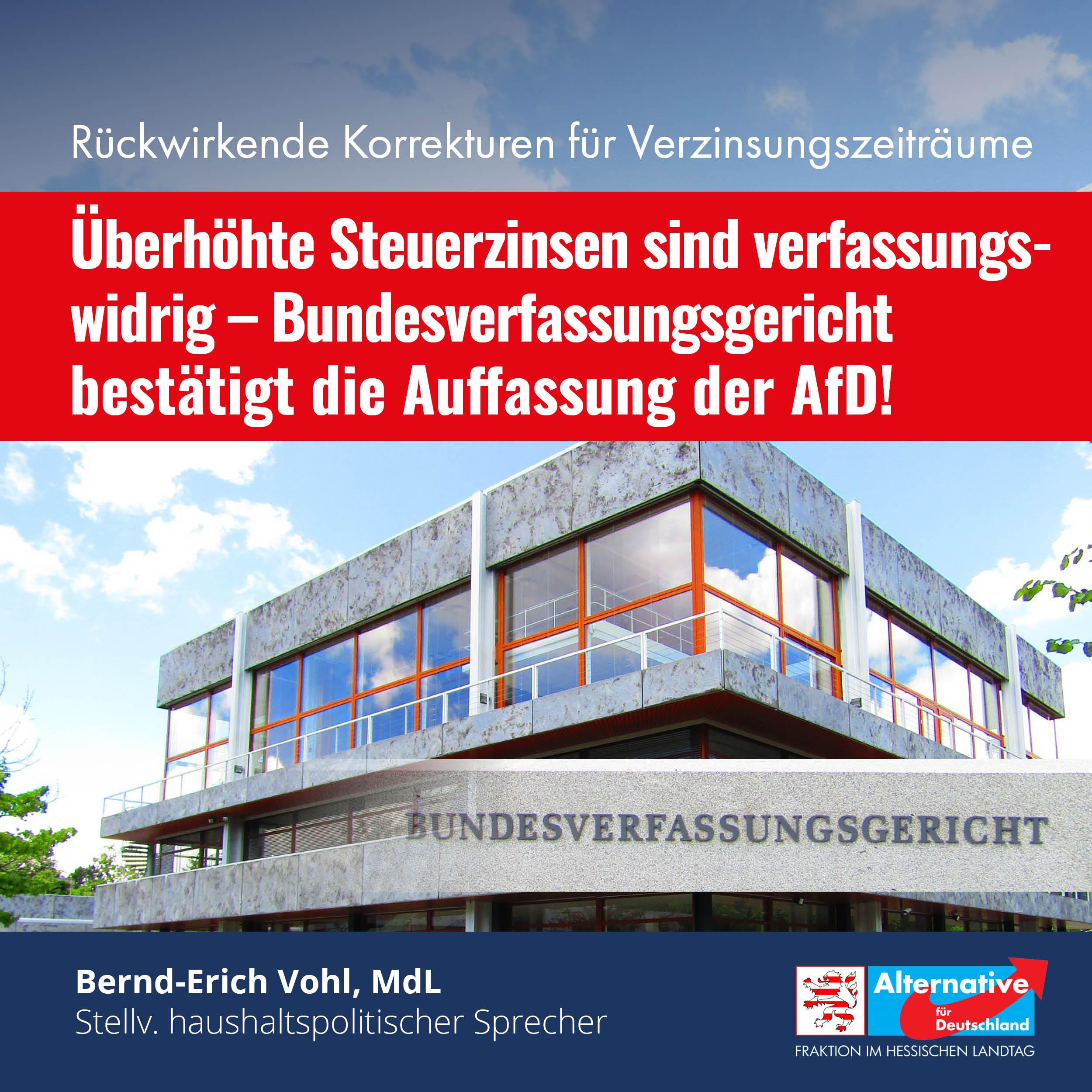 You are currently viewing Überhöhte Steuerzinsen sind verfassungswidrig!