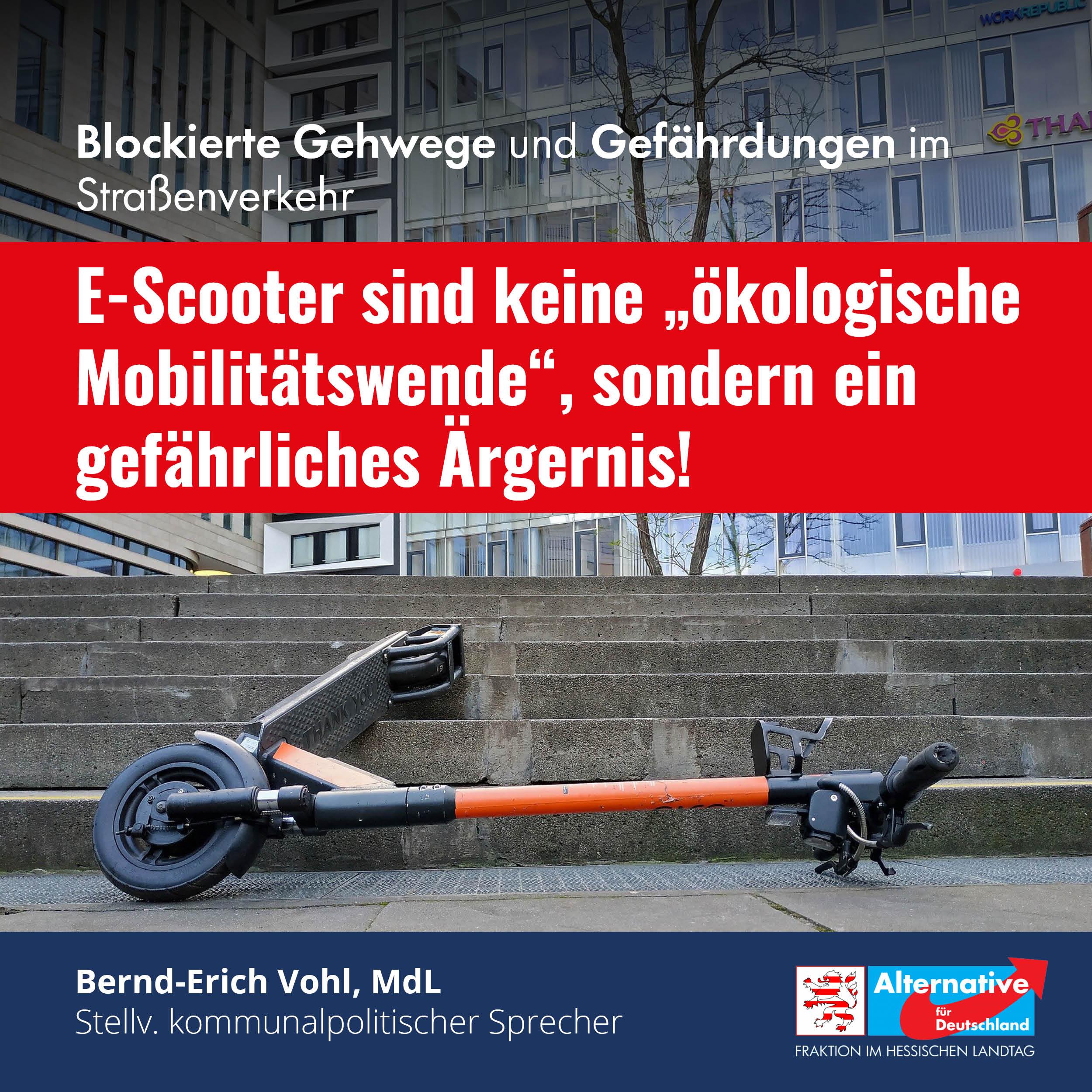 """Read more about the article """"Wir brauchen eine Regelung für E-Scooter auf Landesebene"""""""