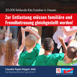 """Read more about the article """"25.000 fehlende Kita Erzieher in Hessen"""""""
