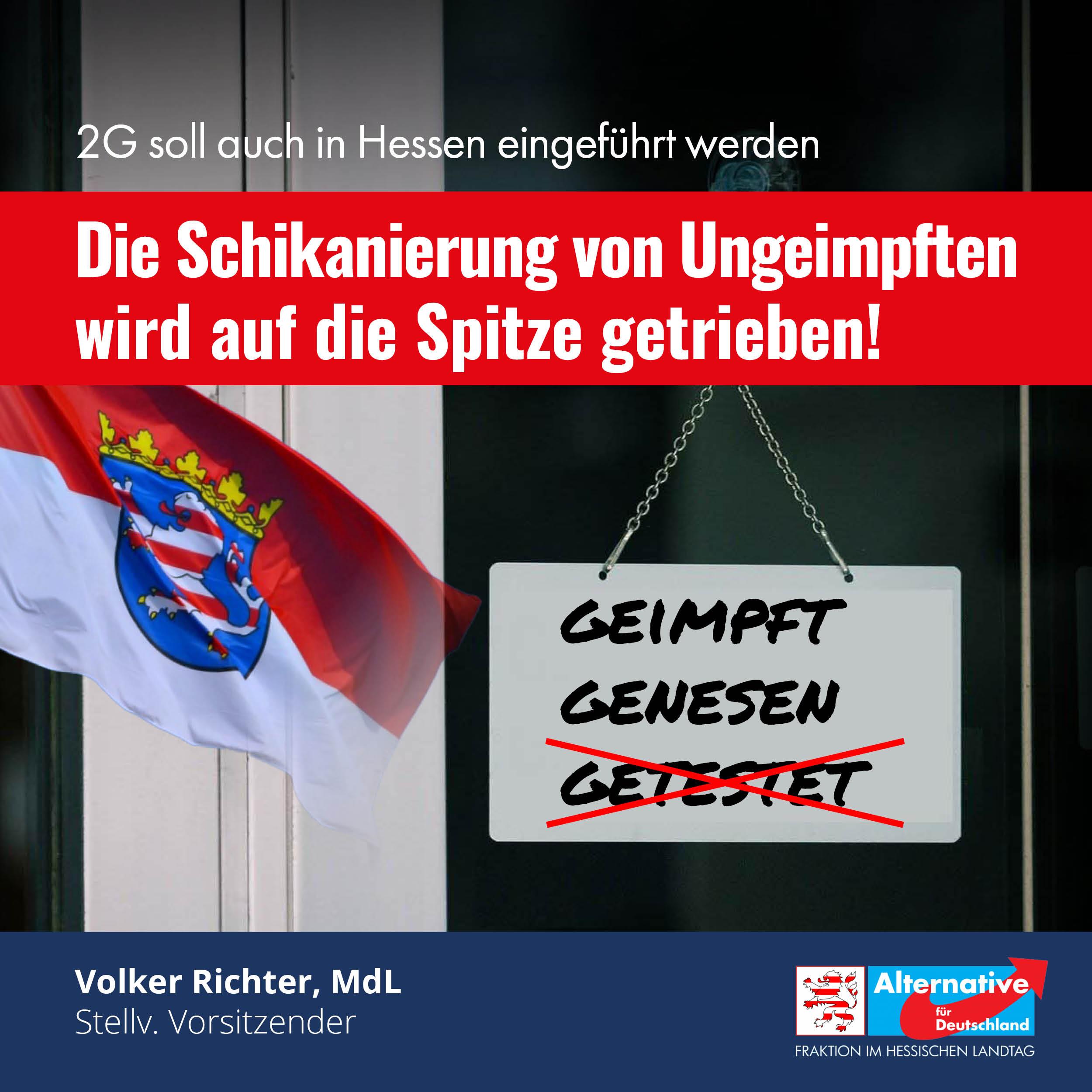 """You are currently viewing 2G in Hessen: """"Regierung lädt Verantwortung auf Gastronomie ab"""""""
