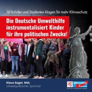 """Read more about the article """"Deutsche Umwelthilfe instrumentalisiert Kinder für ihre politischen Ziele"""""""