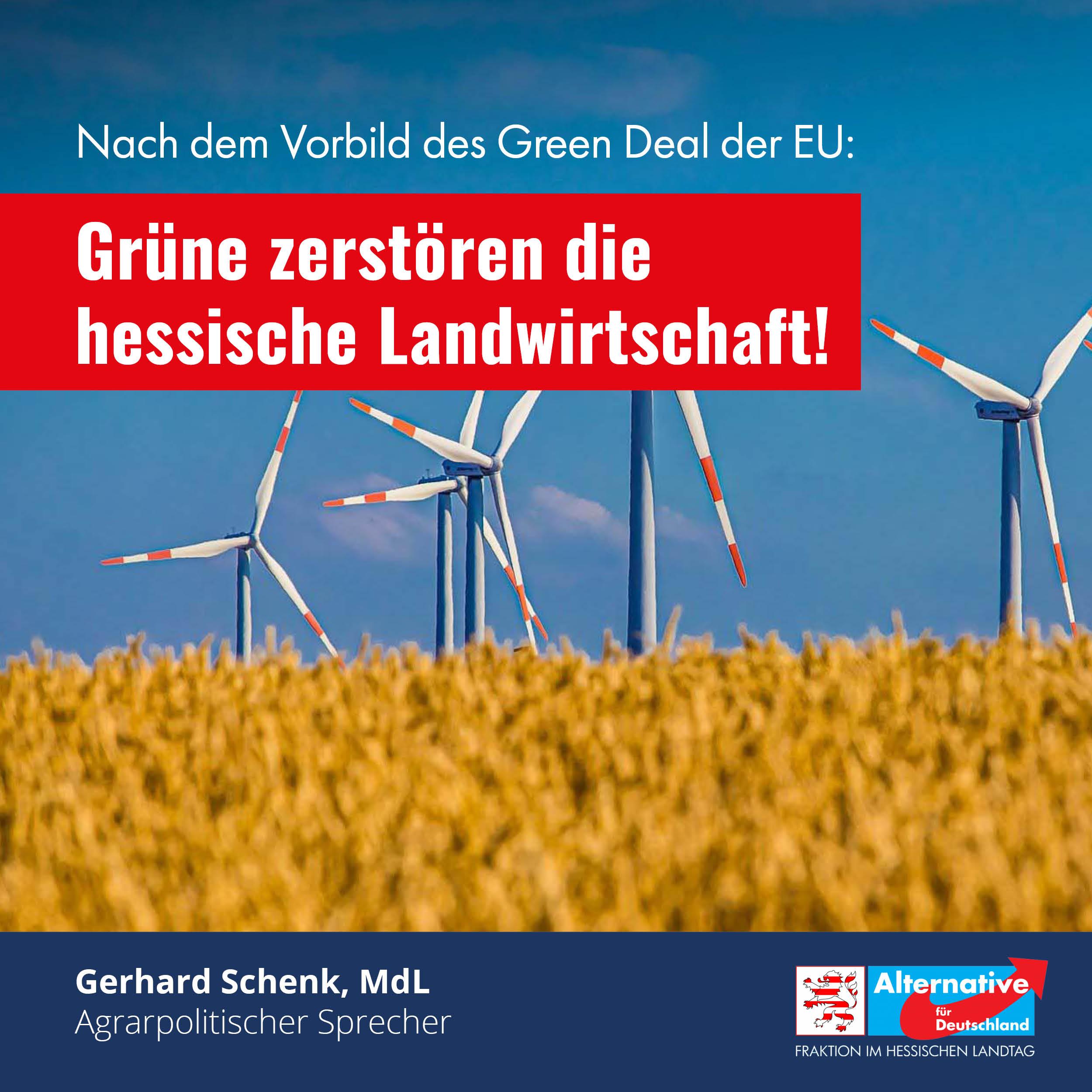 Read more about the article Die Grünen zerstören die hessische Landwirtschaft