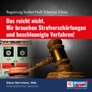 Read more about the article Der Null-Toleranz-Erlass ist ein guter Anfang, muss aber ergänzt werden