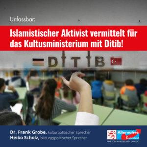 Read more about the article Islamistischer Aktivist vermittelt zwischen Kultusministerium und Islamverband