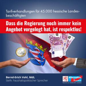 Read more about the article Fehlendes Angebot der Landesregierung nicht nachvollziehbar