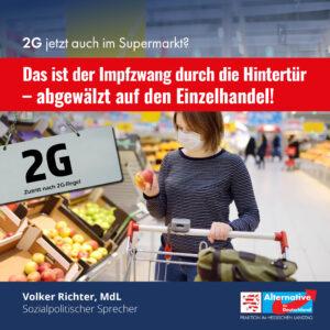 Read more about the article Impfzwang durch die Hintertür – abgewälzt auf den Einzelhandel