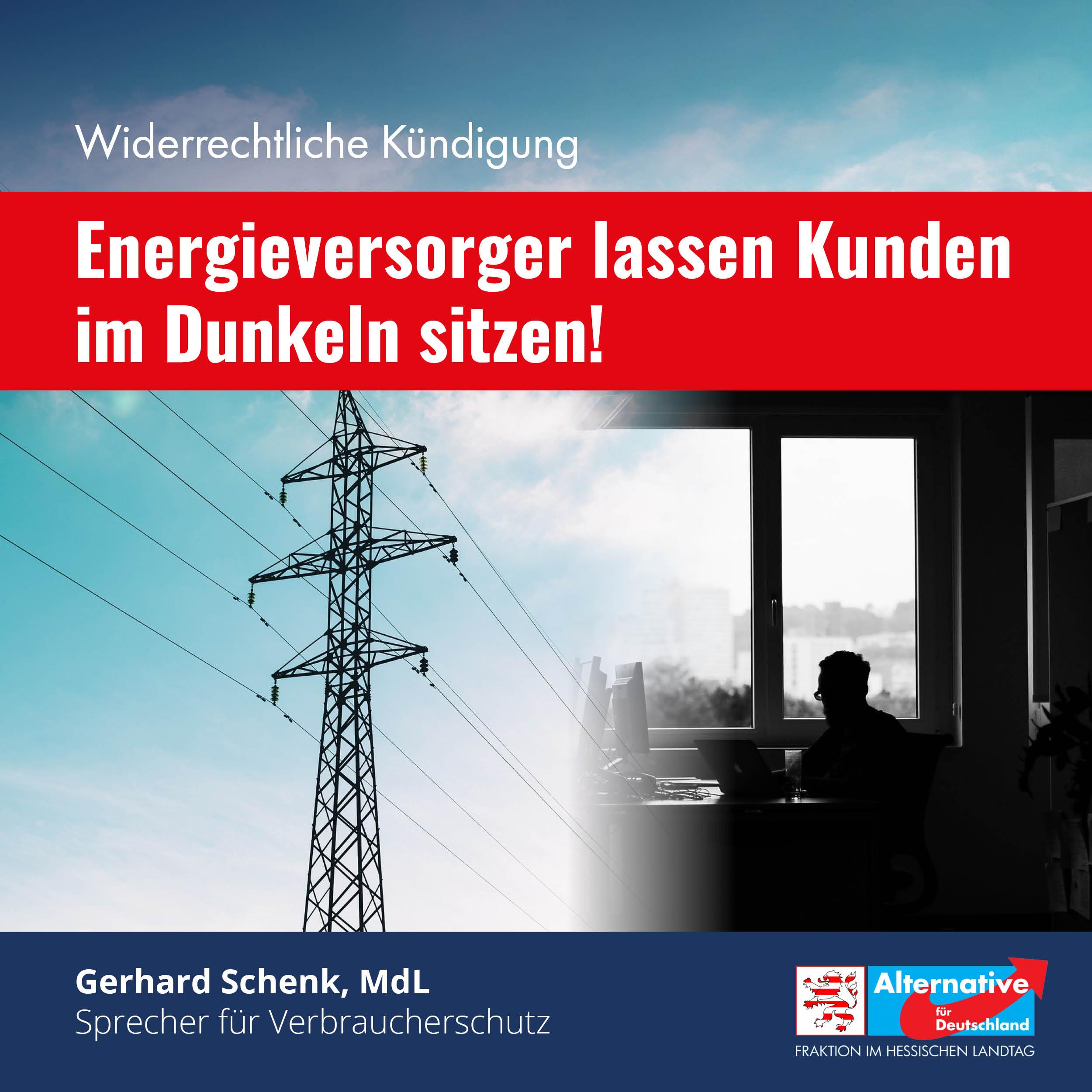 Energieversorger lassen Kunden im Dunkeln sitzen