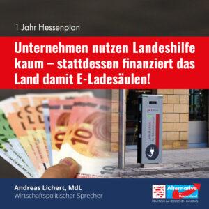 Read more about the article Die Unternehmen kommen nicht wegen, sondern trotz des Hessenplans aus eigener Kraft durch die Krise