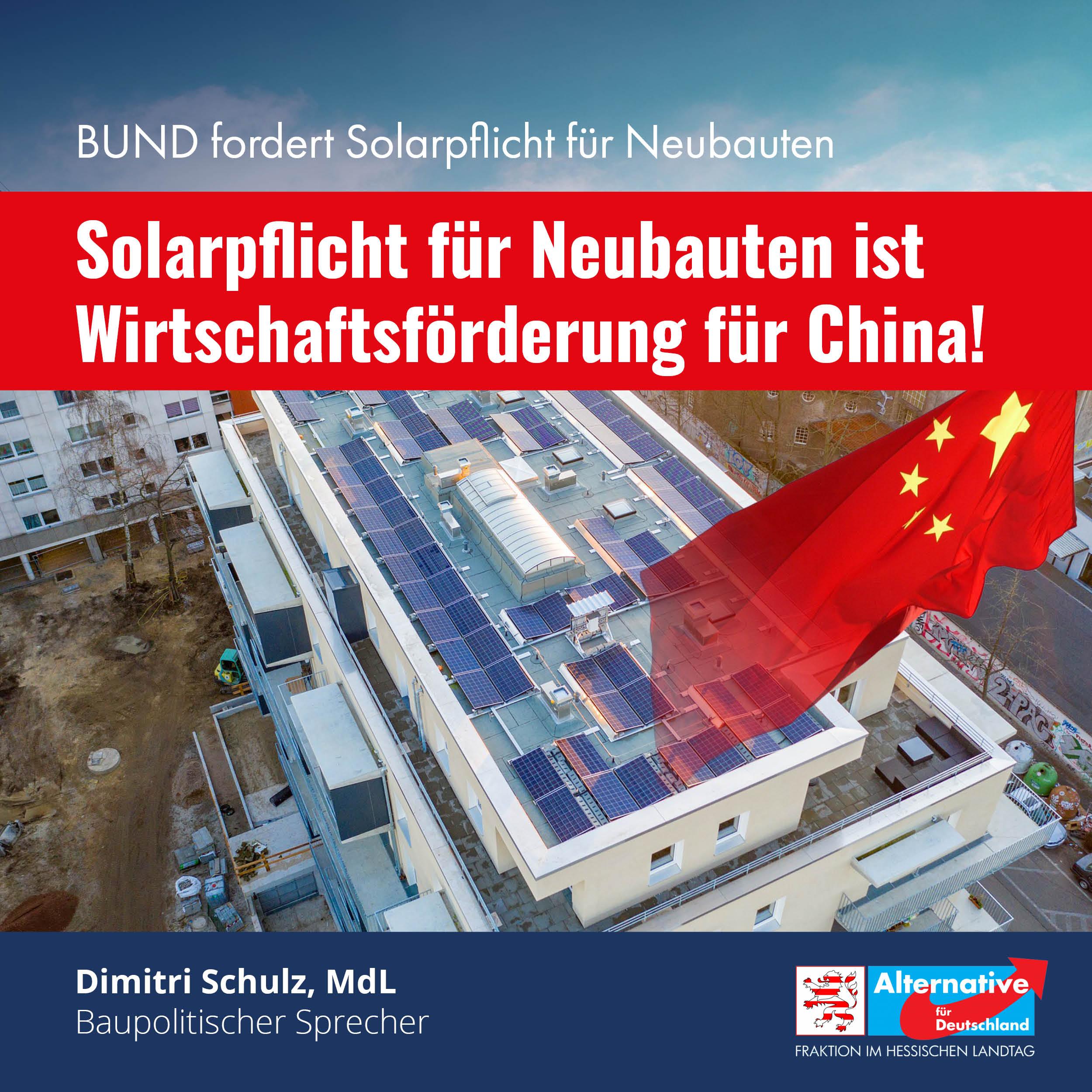 Solarpflicht für Neubauten
