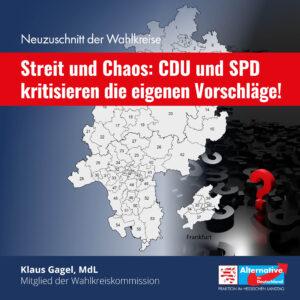 Read more about the article AfD kritisiert CDU und SPD im Streit um den Neuzuschnitt von Wahlkreisen