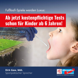 Read more about the article Fußball wird Luxus: Kostenpflichtige Tests für Kinder ab sechs Jahren