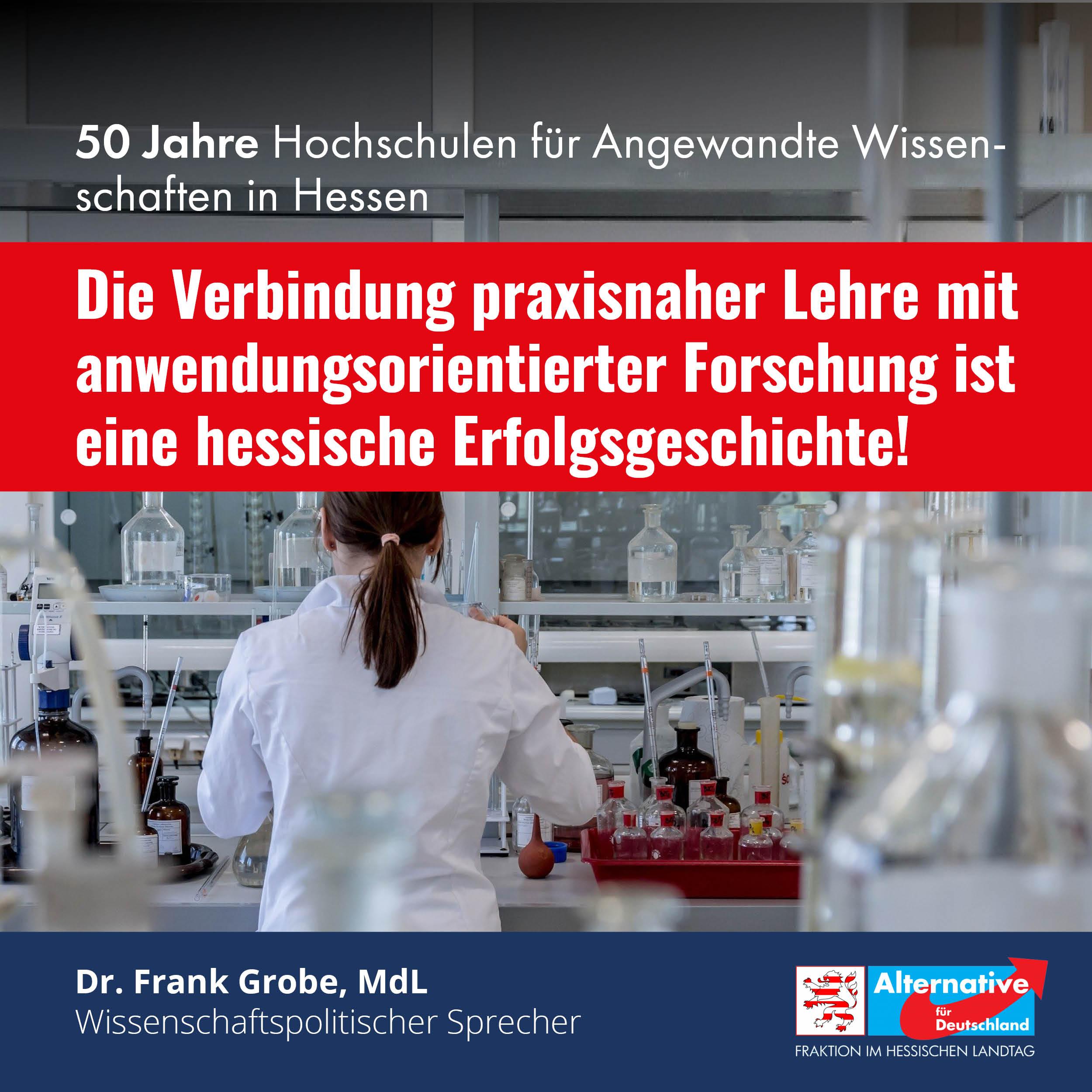 Hessens Hochschulen für Angewandte Wissenschaften