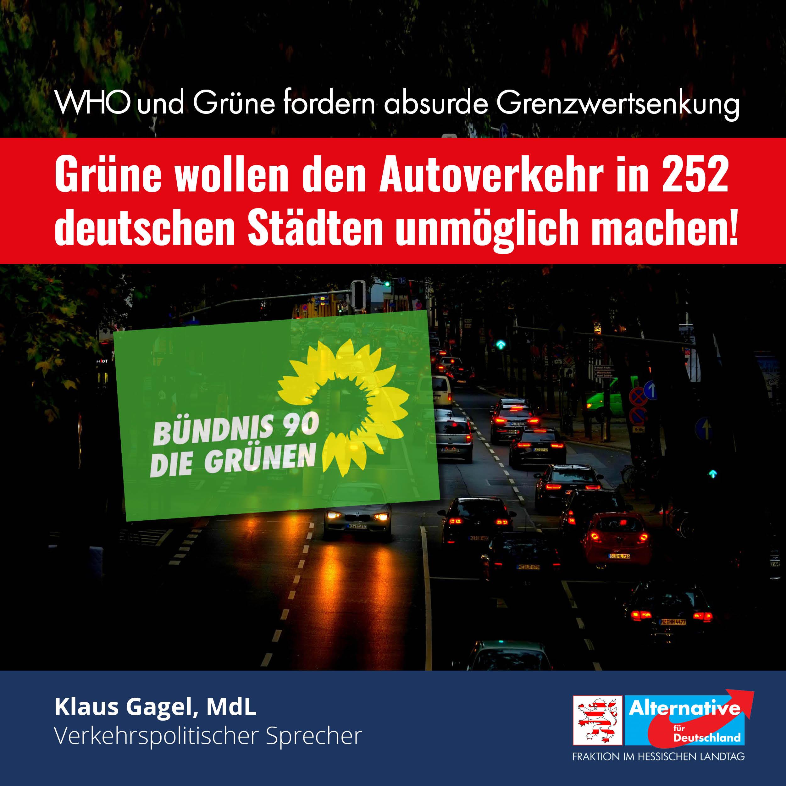 You are currently viewing Grüne wollen den Autoverkehr in 252 deutschen Städten unmöglich machen